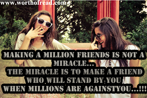 friends are the best part of life