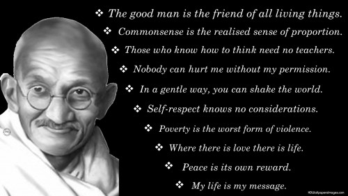Mahatma Gandhi Leadership Profile