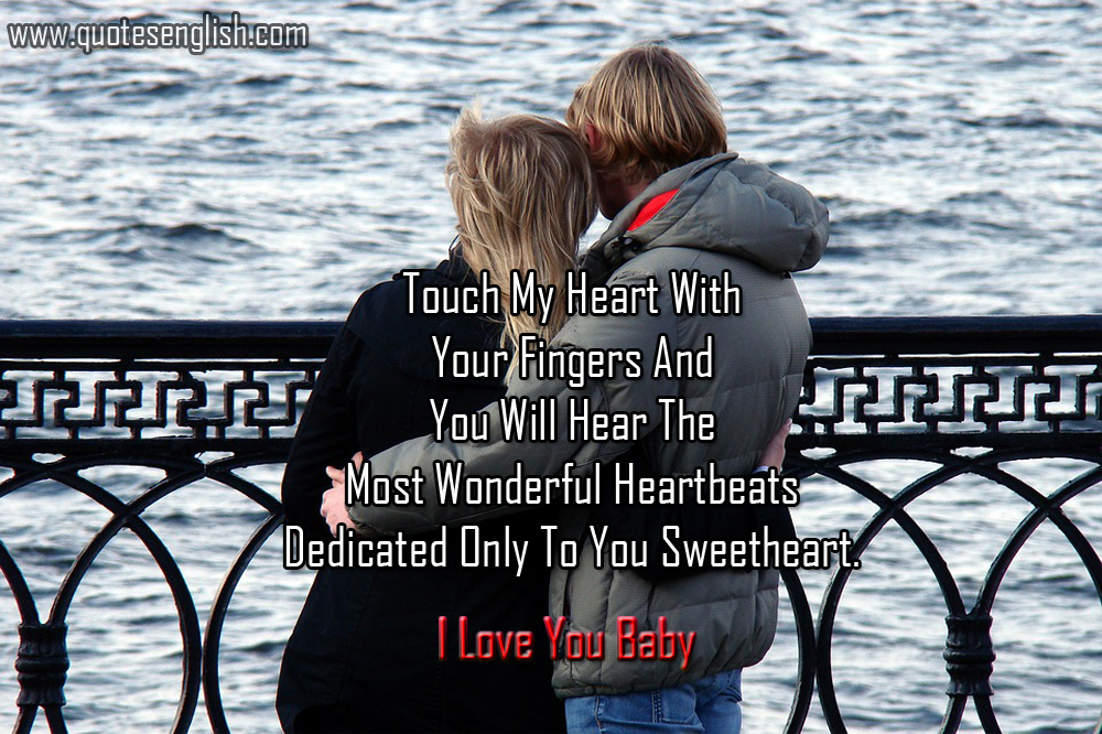 Best 36 I Love You Quotes And Images For Her In English Worth Of