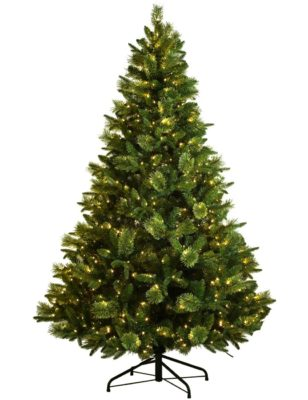 Best 10 Artificial Christmas Tree With Lights Built In Reviews